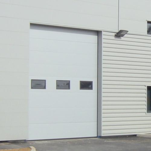 Aso 31 porte sectionnelle industrielle for Alarme porte de garage basculante